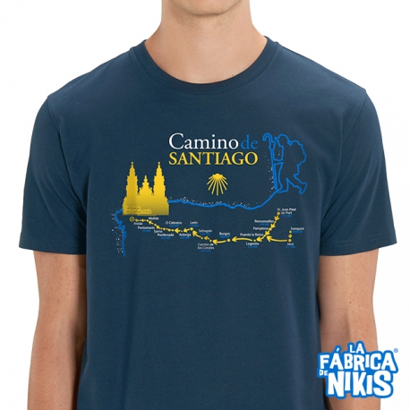 Camiseta Mapa Camino