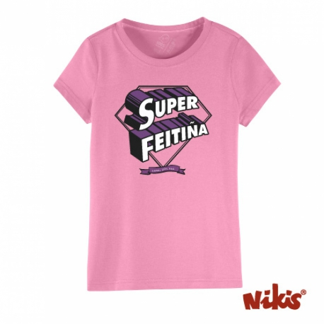 CAMISETA SUPERFEITIÑA NENA