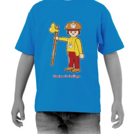 Camiseta Clic Peregrino niño