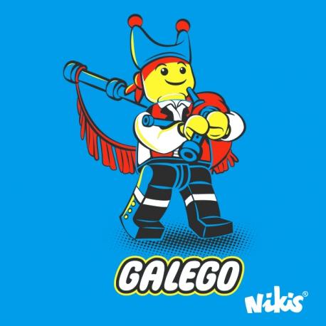 CAMISETA GALEGO GAITEIRO NENO