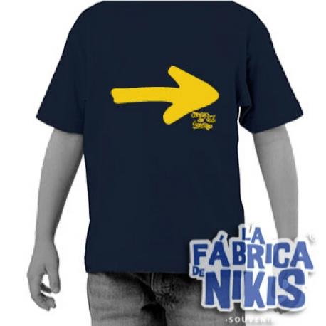 Camiseta Flecha grande niño