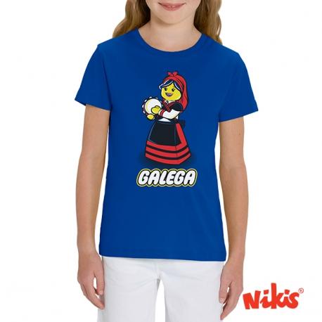 Camiseta Galega Pandereteira nena