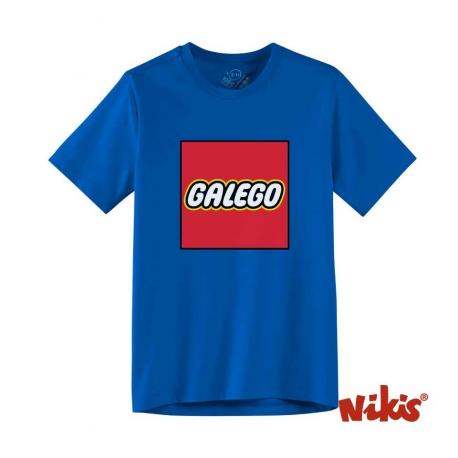 Camiseta Galego Niño royal
