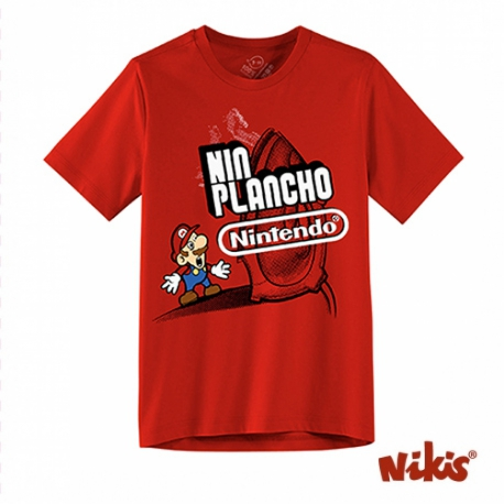 Camiseta Nin Plancho Nintendo neno