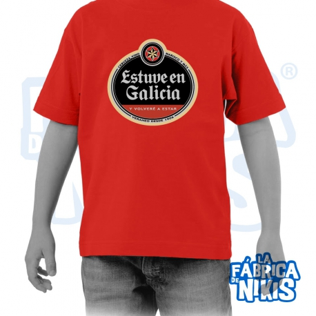 Camiseta Estuve en Galicia Niño