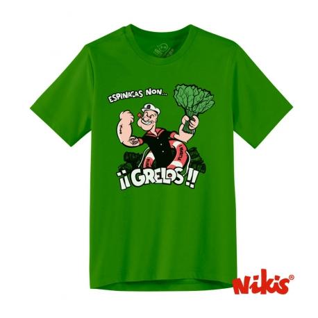 Camiseta Grelos niño