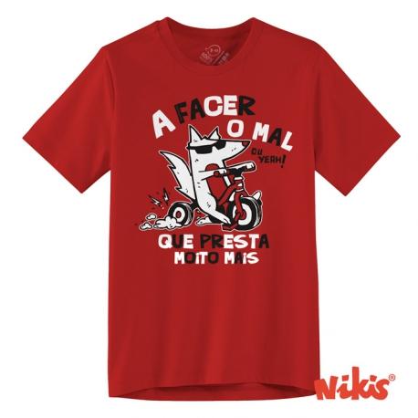 Camiseta A Facer o Mal neno