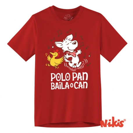 Camiseta Polo Pan baila o can