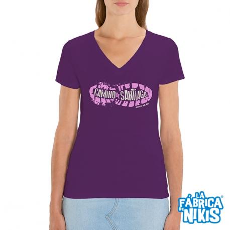 Camiseta Huella Camino chica