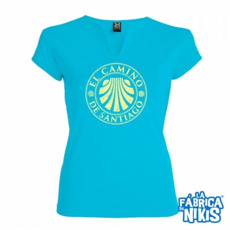 Camiseta Sello Camino chica