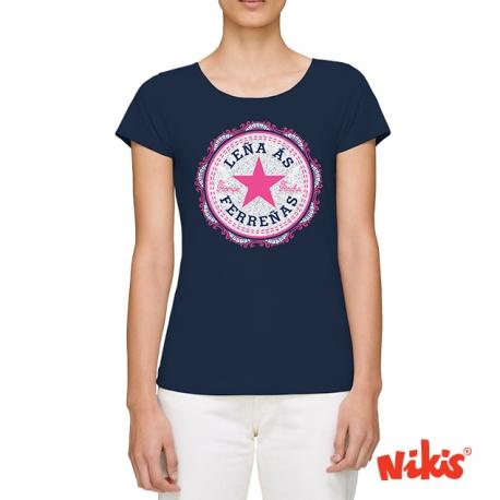 Camiseta Leña as Ferreñas moza
