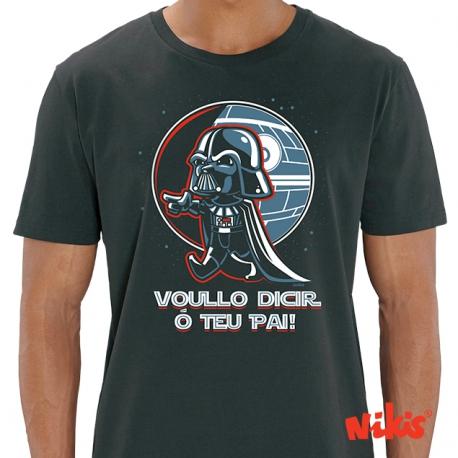 Camiseta Voullo decir o teu pai