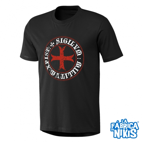 Camiseta Cruz Templaria