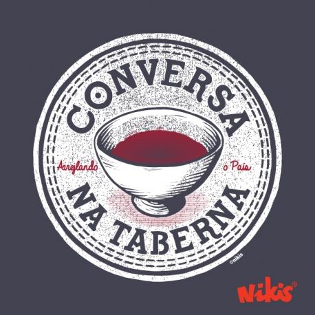 CAMISETA CONVERSA NA TABERNA