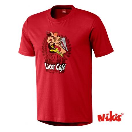 Camiseta Licor Café