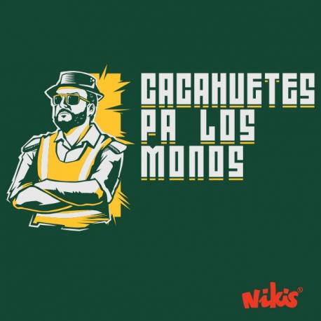 CAMISETA CACAHUETES PA LOS MONOS