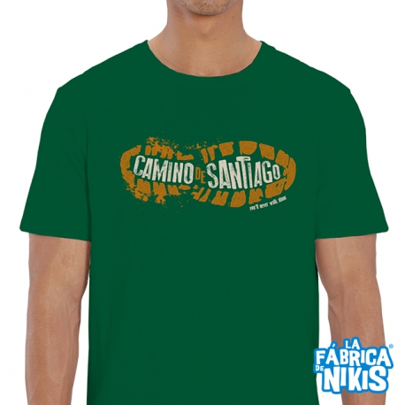 Camiseta Huella Camino