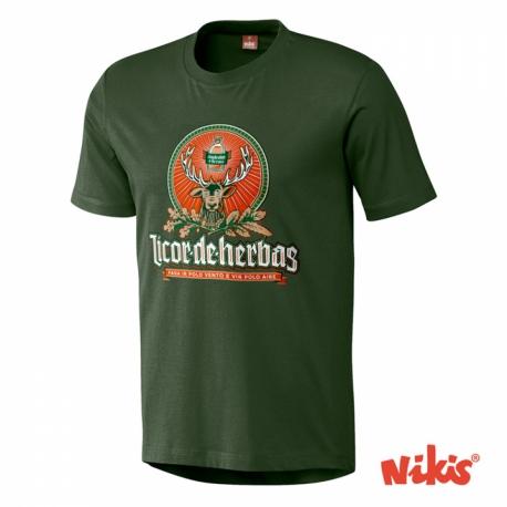 Camiseta Licor de Herbas