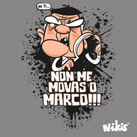 CAMISETA NON ME MOVAS O MARCO