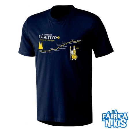 Camiseta Camino Primitivo