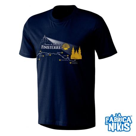 Camiseta Camino Finisterre