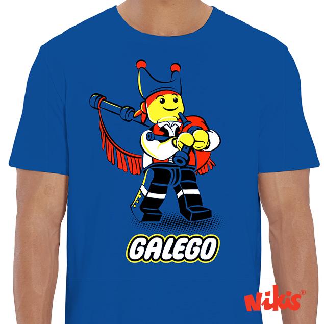 CAMISETA GALEGO GAITEIRO