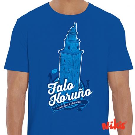 Camiseta Falo Koruño