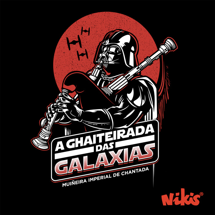 CAMISETA A GHAITEIRADA DAS GALAXIAS