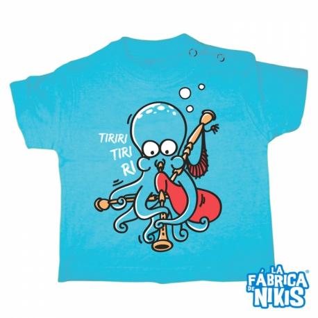 Camiseta Pulpo Gaiteiro