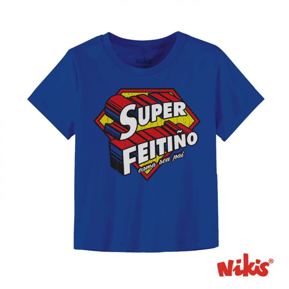CAMISETA SUPERFEITIÑO BEBE
