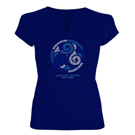 Trisquel azul Galicia chica
