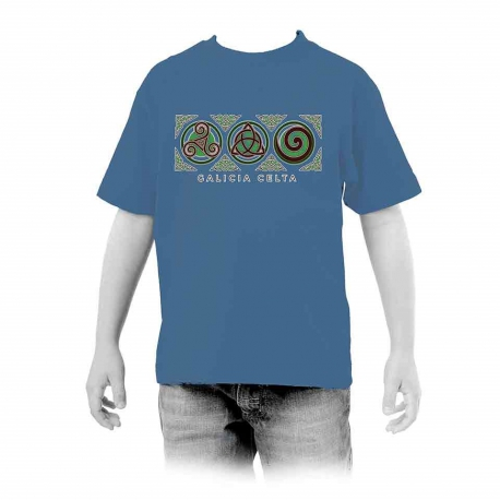 Tres Simbolos Celta Galicia niño
