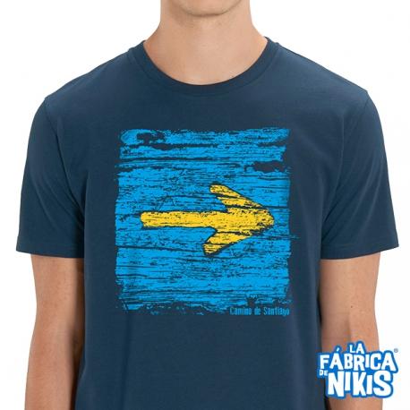 Camiseta Flecha madera