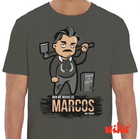 Camiseta Marcos Prata ou Sacho