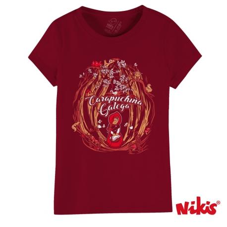 Camiseta Carapuchiña Galega
