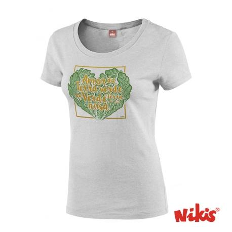 Camiseta Amor da Terra Verde