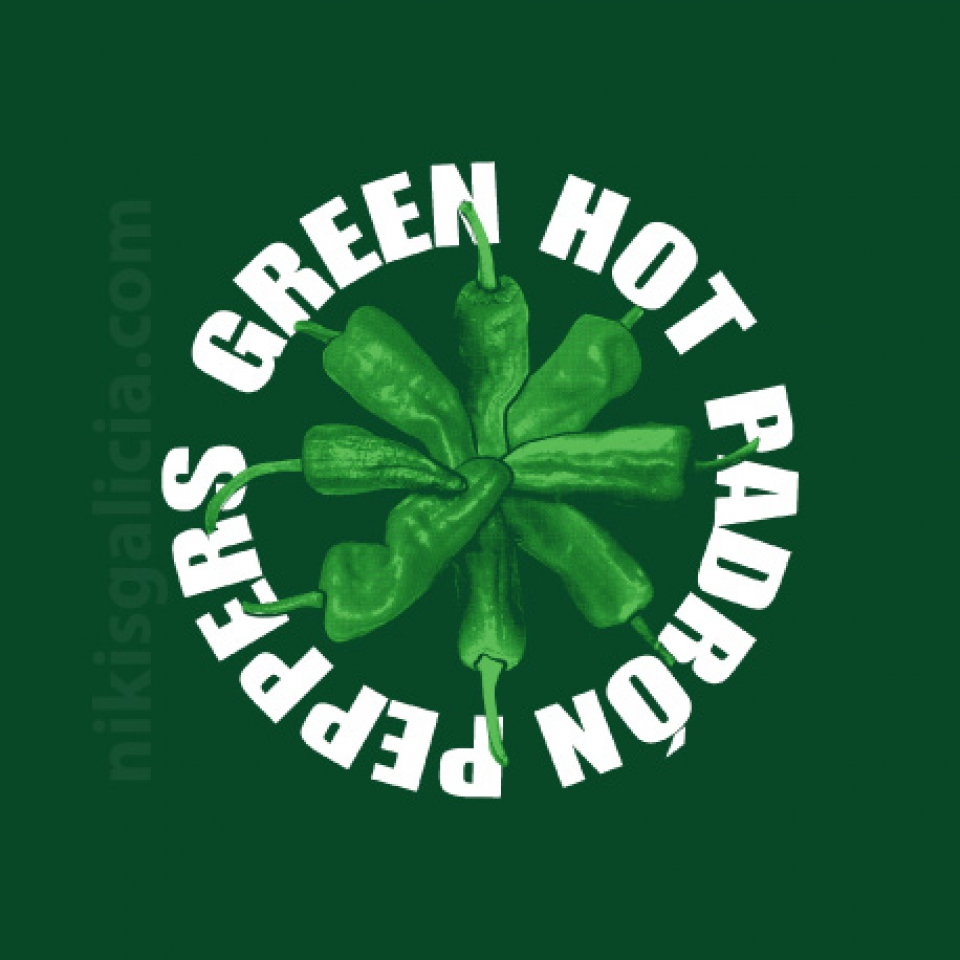 CAMISETA GREEN HOT PEPPERS