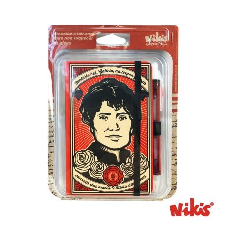Pack Caderno e boli Rosalía