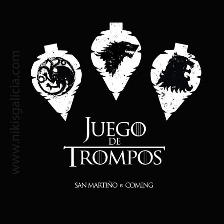 CAMISETA JUEGO DE TROMPOS