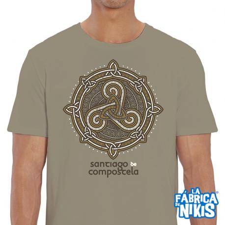 Camiseta Espiral Celta Santiago