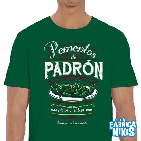 Camiseta Pimientos de Padrón