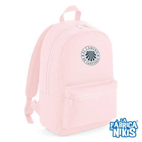 Mochila Fashion Sello Institucional rosa