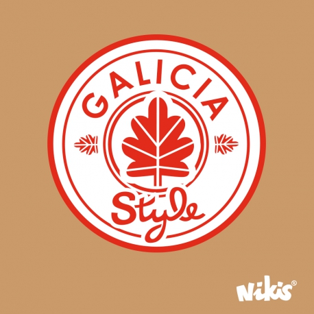 MOCHILA ROLL GALICIA STYLE MARRON