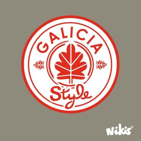 MOCHILA ROLL GALICIA STYLE VERDE