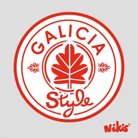 MOCHILA FASHION GALICIA STYLE GRIS