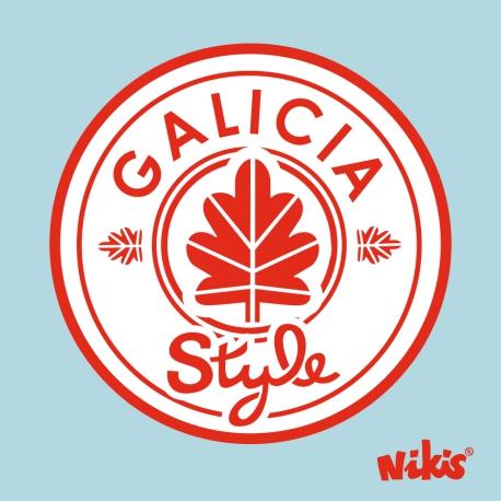 MOCHILA FASHION GALICIA STYLE AZUL