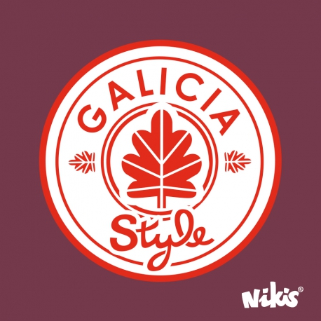 MOCHILA RUCK GALICIA STYLE GRANATE