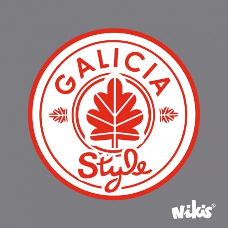 MOCHILA RUCK GALICIA STYLE GRAFITO