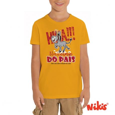 Camiseta Unicornio do Pais