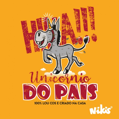 CAMISETA UNICORNIO DO PAIS